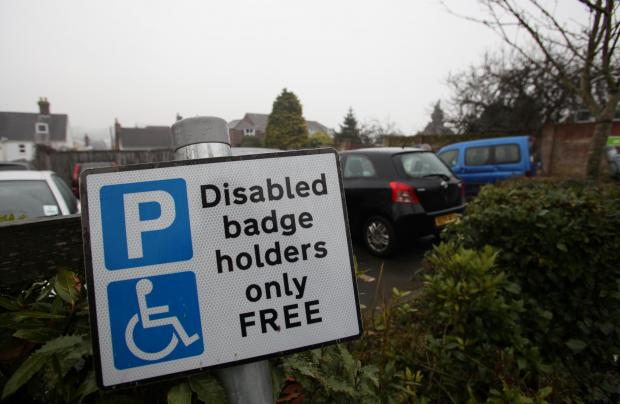 Daily Echo: Civic chiefs' U-turn on disabled parking fees in New Forest