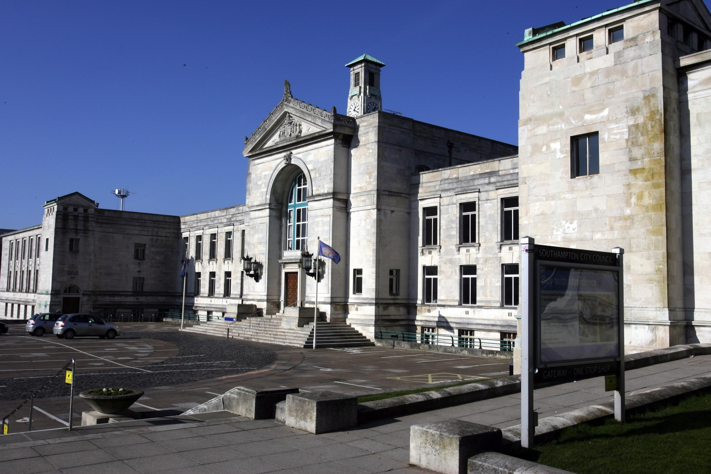 Southampton Civic Centre home of the cash-strapped city council