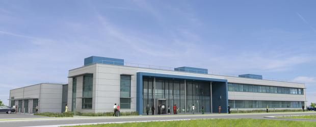 How the Innovation Centre at Daedalus could look