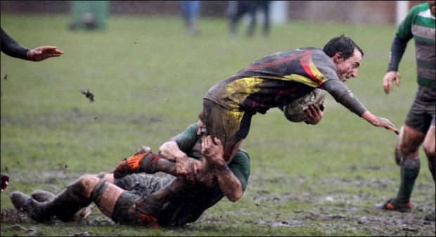 Daily Echo: Rugby clubs braced for another wet weekend