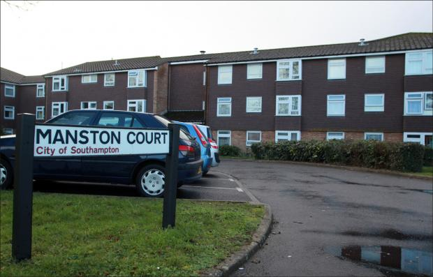 Man rescued in fire drama at Manston Court