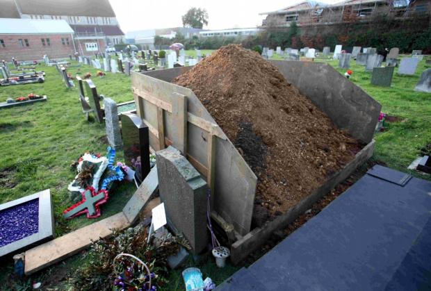 Upset over burial site finally resolved