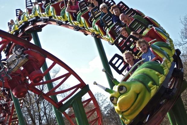 Daily Echo: One of the many rides at the park