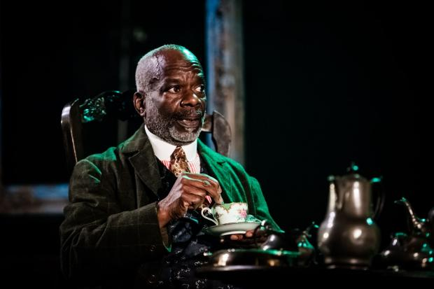 Daily Echo: Joseph Marcell in Gaslight at Salisbury Playhouse. Picture by Richard Davenport