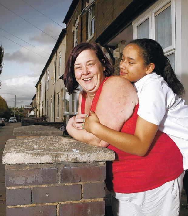 Daily Echo: Benefits Street's White Dee and her daughter, Caitlin,