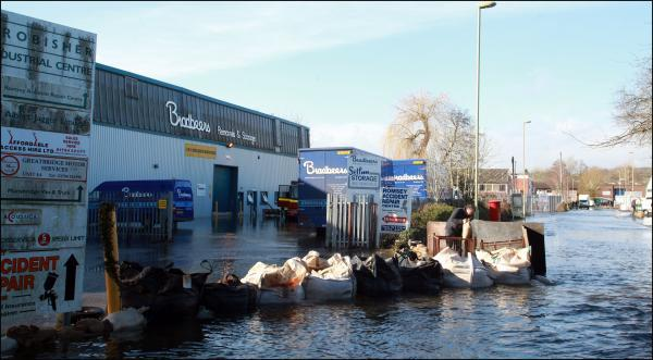 Floodwater 'could last for months'