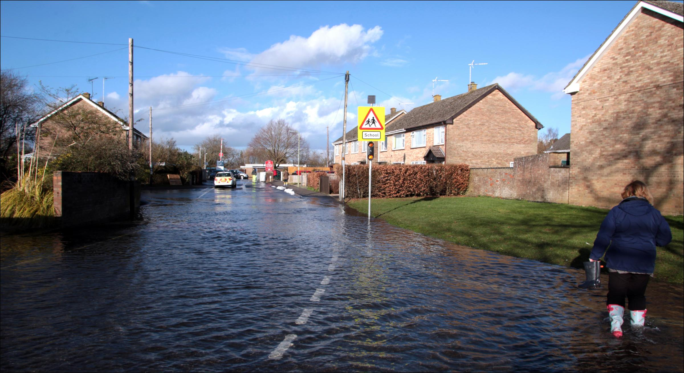 Flooding in Fordingbridge