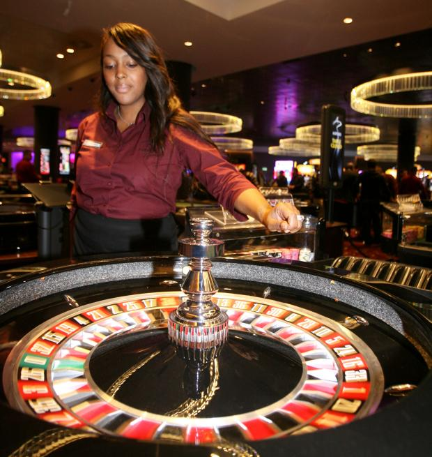 Daily Echo: An Aspers casino in Stratford, London