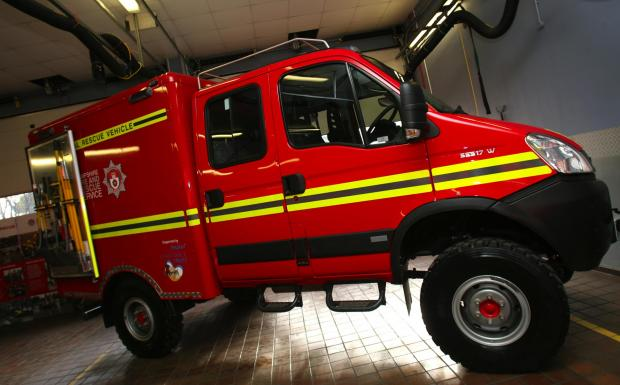The vehicle already in use at Lyndhurst Fire Station