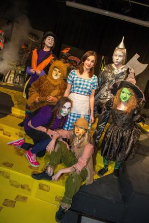 Students perform Wizard of Oz at Redbridge COmmunity School