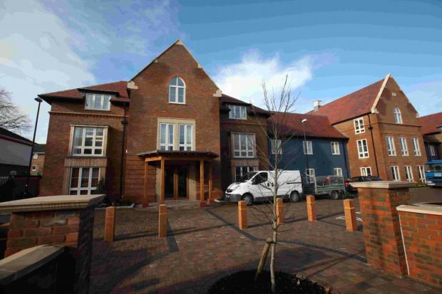PURPOSE BUILT: Linden House care home in Lymington.
