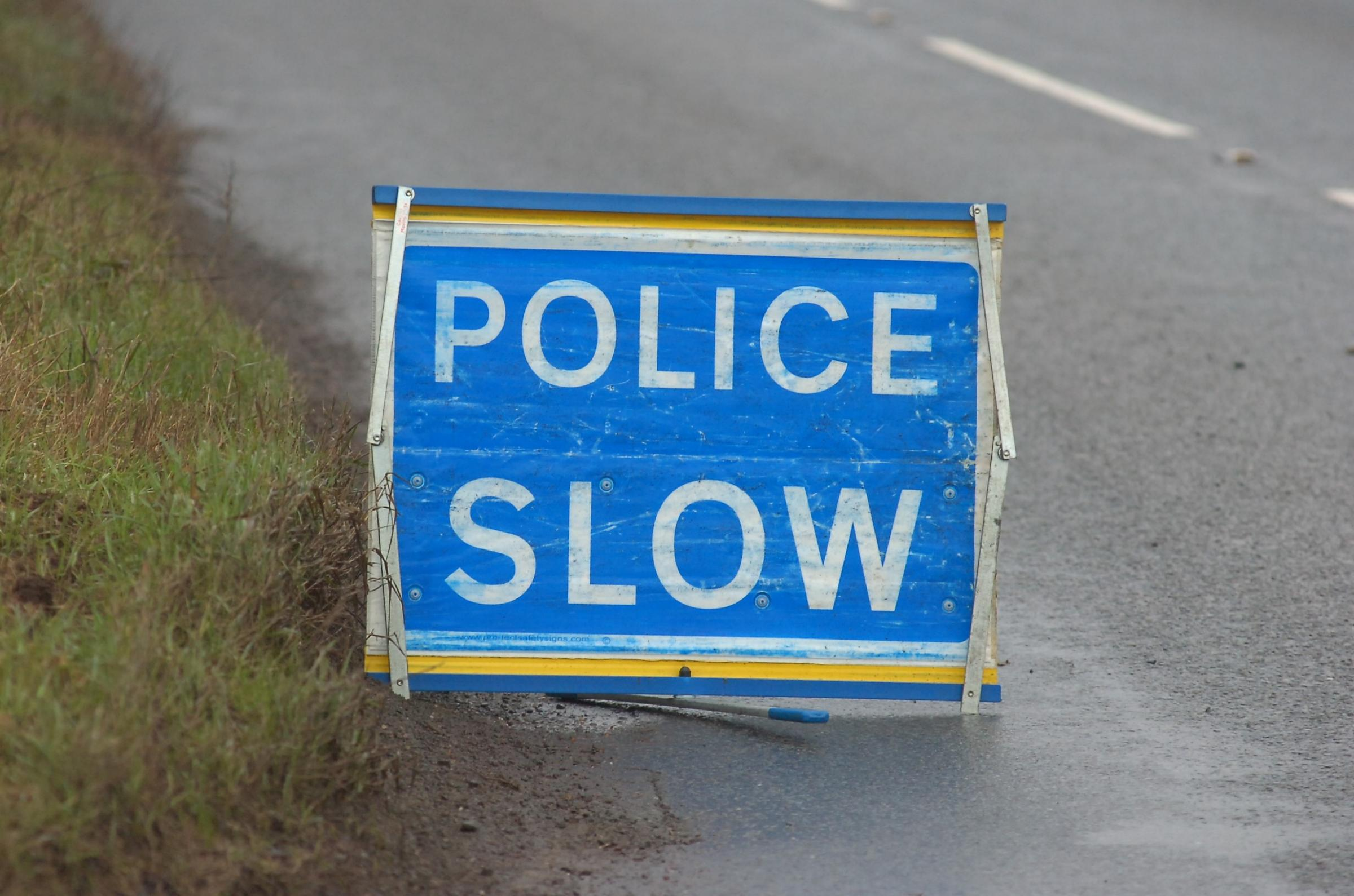 Major road closed after pile-up