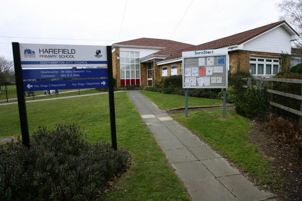 Exterior of Harefield Primary