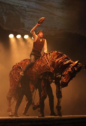 Bringing War Horse to life at The Mayflower