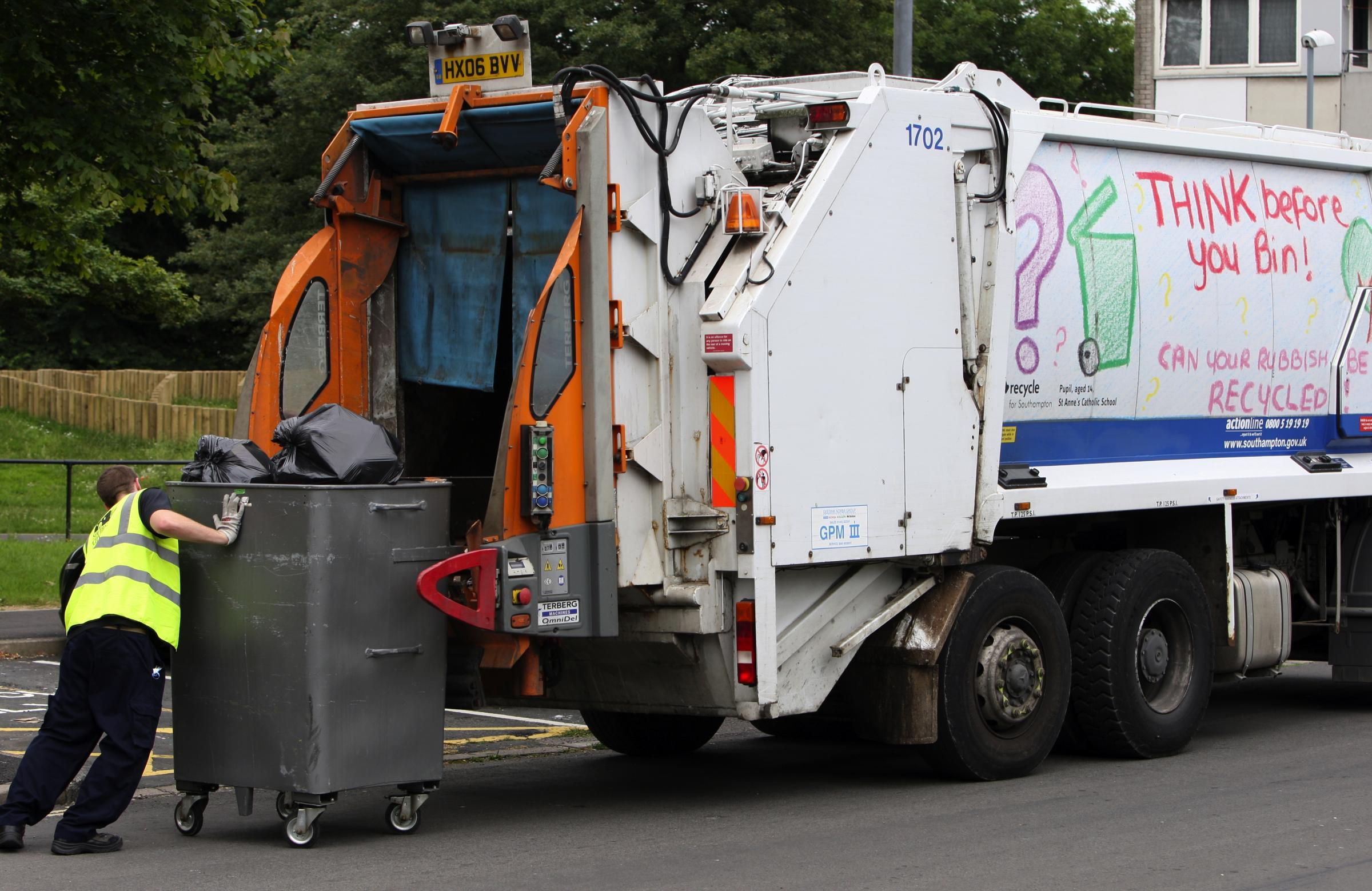 All change in bin collection in city