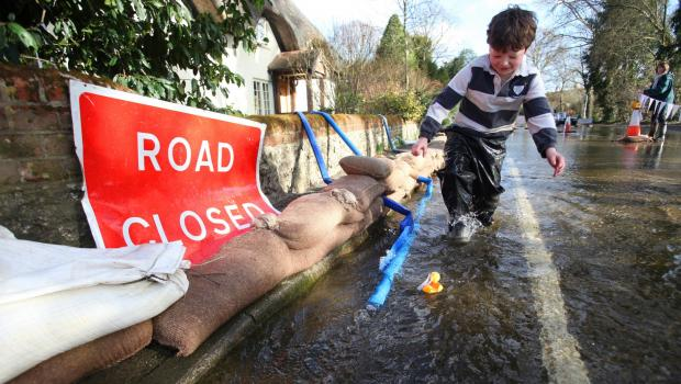 £1 million bill to fix county's roads after flooding