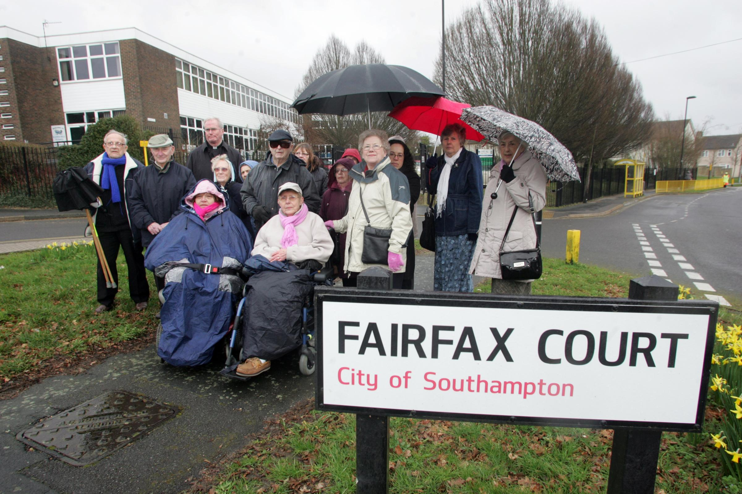 Residents of Fairfax Court, Thornhill