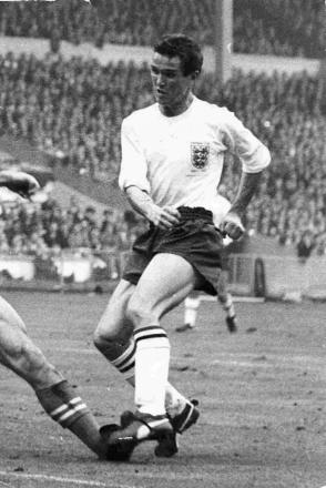 Terry Paine in his England days