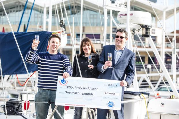 Daily Echo: EuroMillions win for Hampshire trio