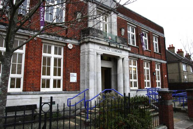 Burgess Road library in Southampton