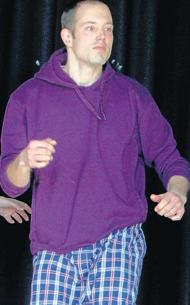 Alex Nicanovich who fought depression with dance