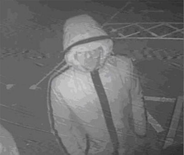 Daily Echo: CCTV released by police following break-ins at the Royal British Legion in Bitterne, Southampton