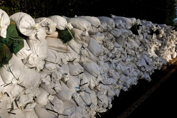 After the floods: What to do with 70,000 used and soggy sandbags