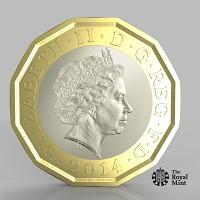 Daily Echo: The new one pound coin announced by the Government will be the most secure coin in circulation in the world (HM Treasury/PA)