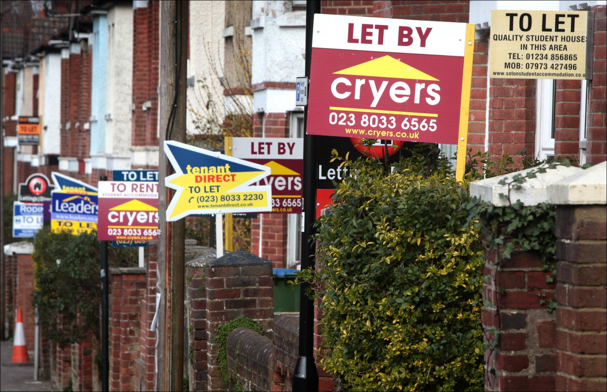 Strict new rules are proposed on the use of estate agent boards