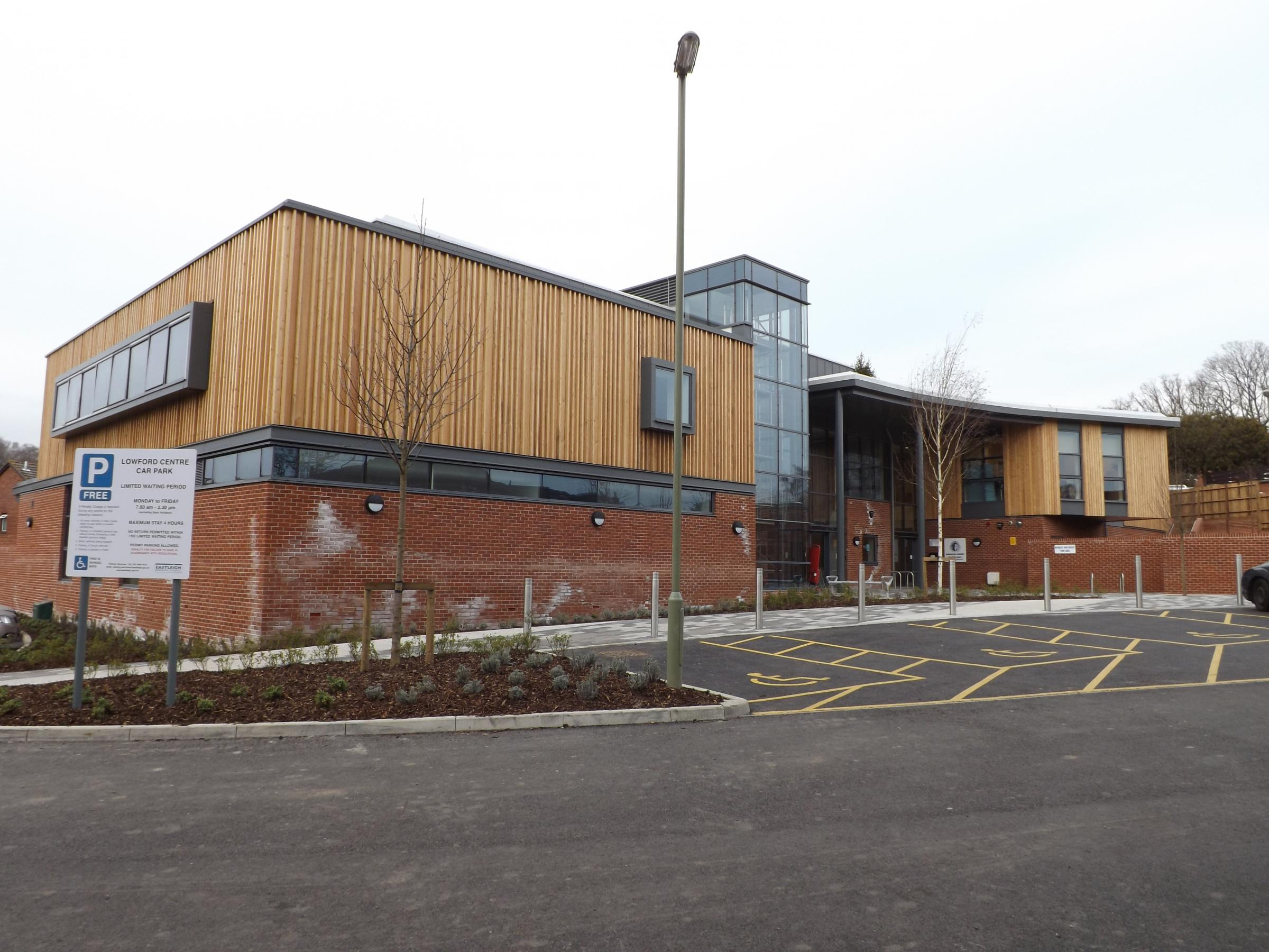 £3.5m centre set for grand opening