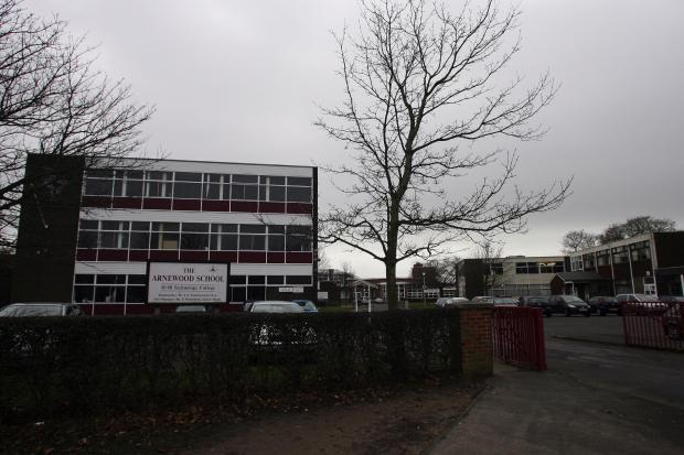 The Arnewood School, which is backing the plan
