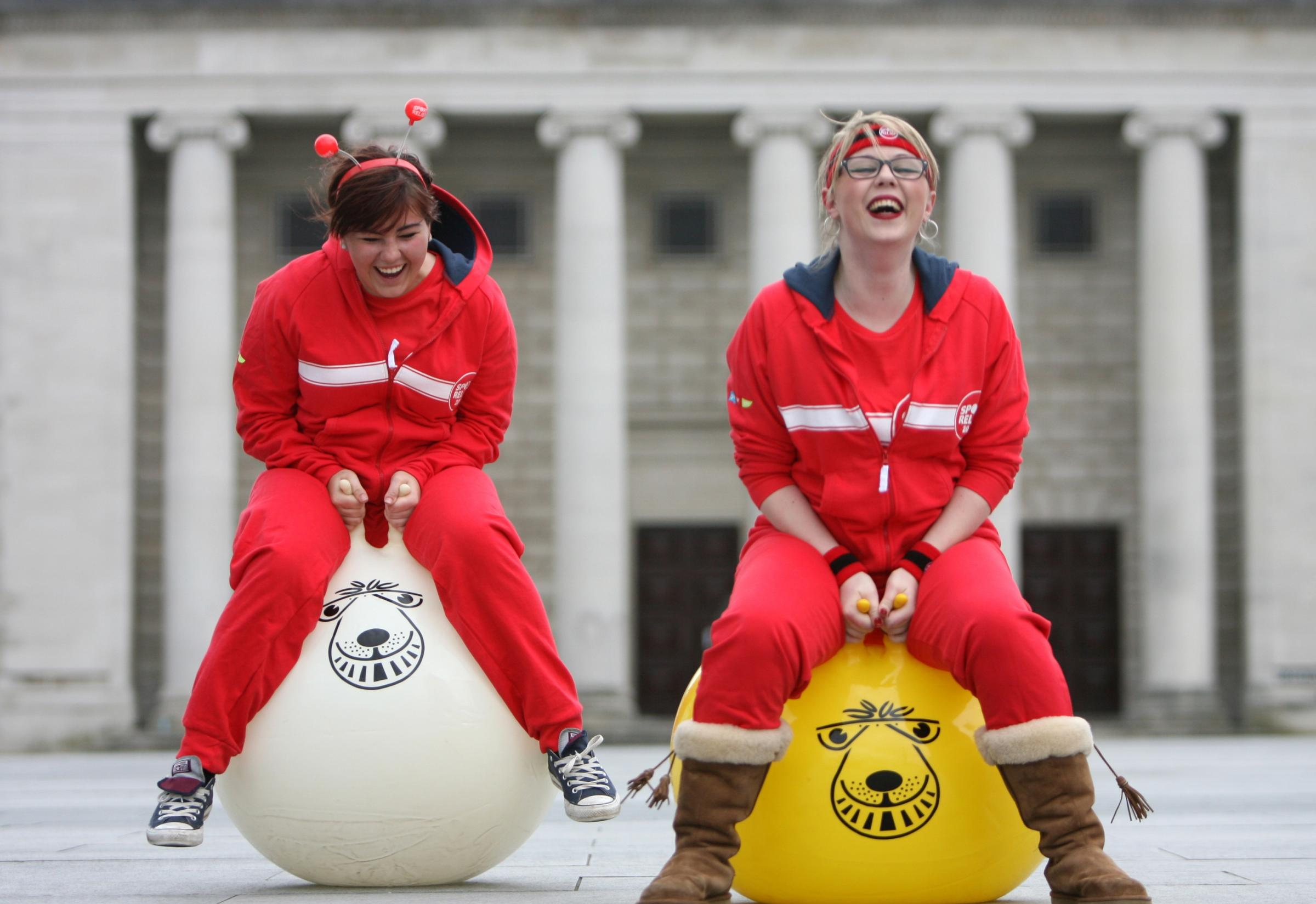 Sport Relief gets off to a flying start