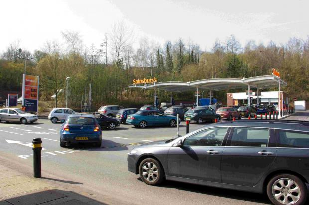 Daily Echo: Badger Farm Sainsbury's in Winchester
