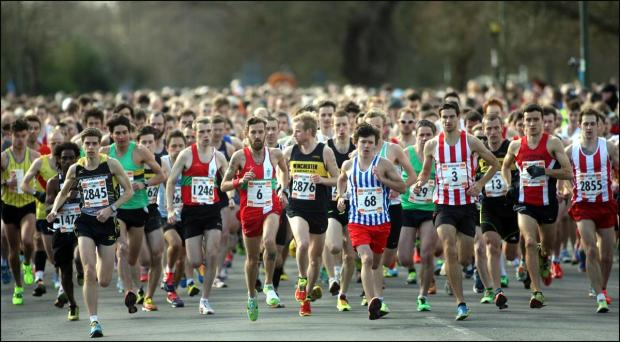 Daily Echo: Fast time for winner of the 2014 B & Q Eastleigh 10k