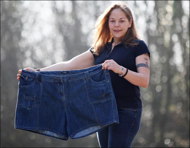 'Get off that horse - you're too fat' - the insult that drove woman to shed half her size