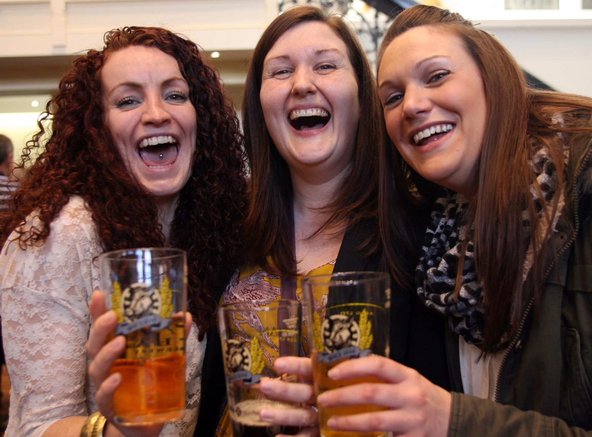 Raising a glass to real ale at Winchester festival