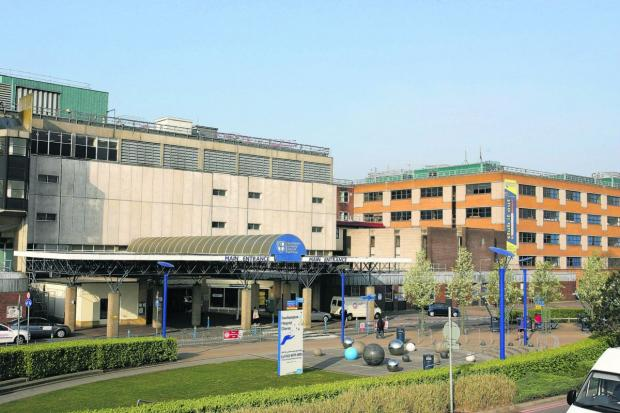 Daily Echo: Southampton General Hospital.