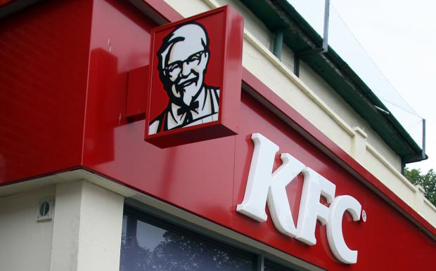 Daily Echo: A KFC sign