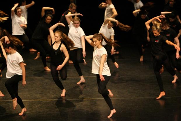 Young dancers take to the stage