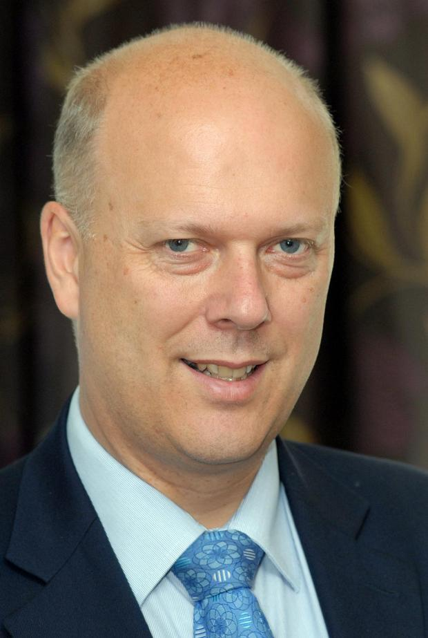 Daily Echo: Chris Grayling, MP for Epsom and Ewell and Secretary of State for Justice