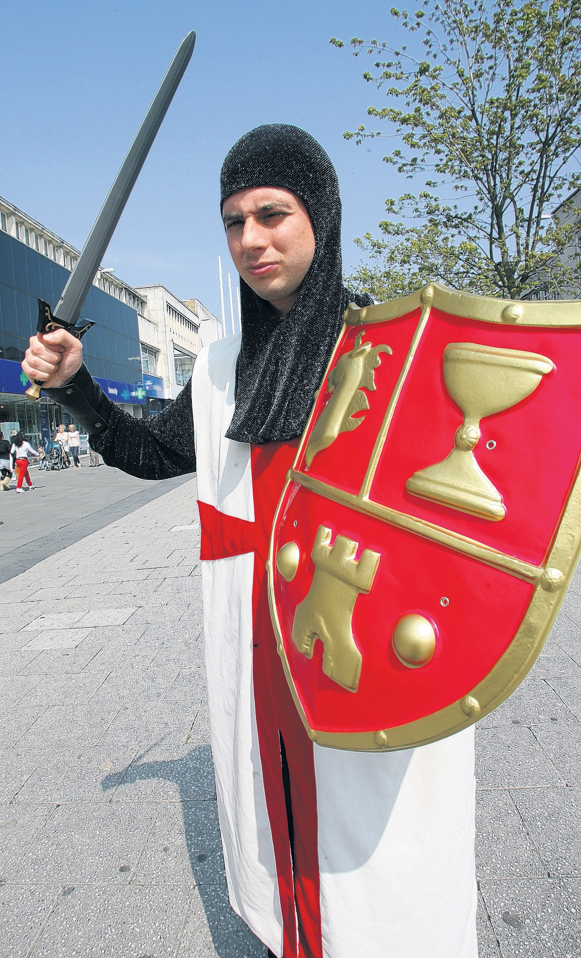 People in Southampton are being called on to help mark St George's Day.