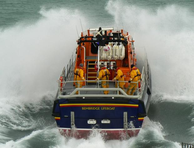 Daily Echo: Bembridge Lifeboat
