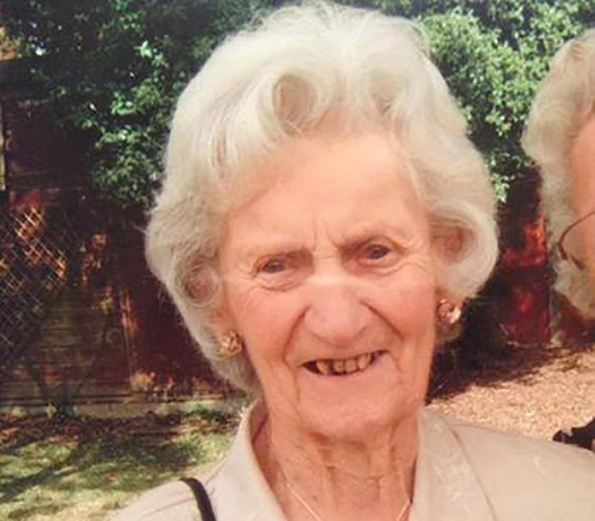 Police have informed the family of Mary Holland that they have discovered a body in their search for the 87-year-old