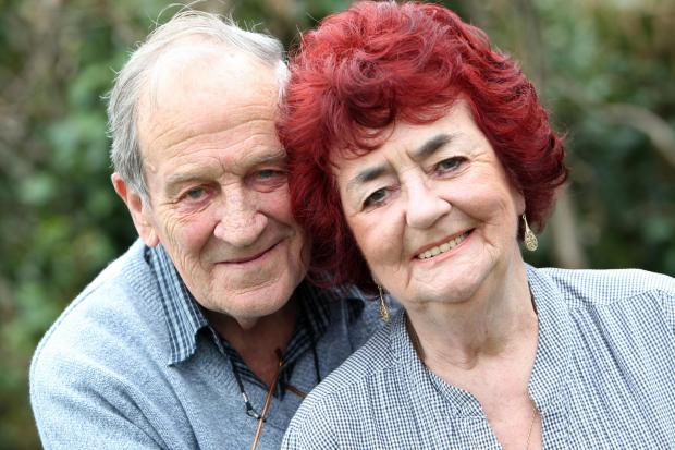 Parents said 'It won't last' - but they're still wed after 60 years