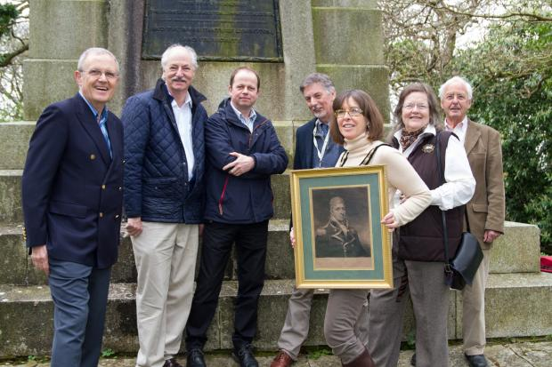 Campaigners are planning to restore a monument erected in memory of Admiral Sir Harry Burrard Neale