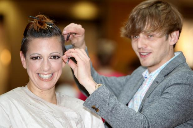 Daily Echo: Jo loses her locks for charity