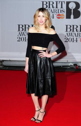 Peaches Geldof at the 2014 Brit Awards a few weeks ago