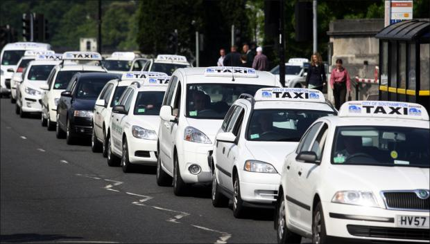 Daily Echo: Taxis in Southampton