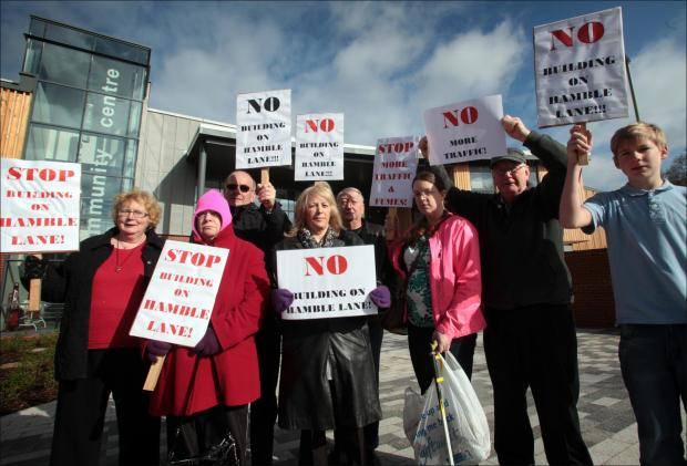 Development bid sparks protests