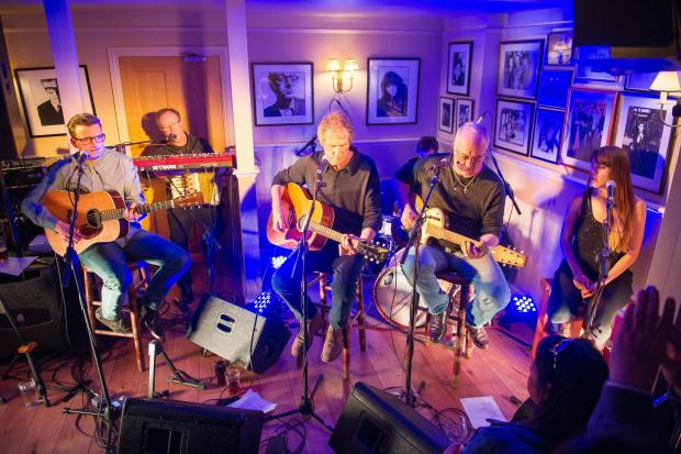Daily Echo: John Illsley and band in action